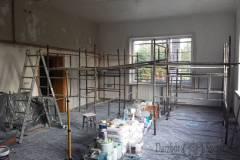 Remont domku myśliwskiego