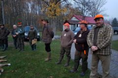 Pierwsze polowanie metodą szwedzką w tym sezonie